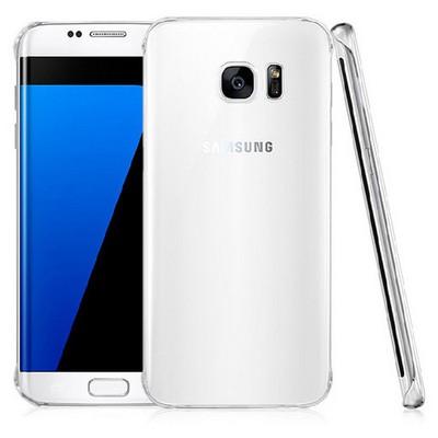 Microsonic Samsung Galaxy S7 Edge Kılıf Kristal Şeffaf Cep Telefonu Kılıfı