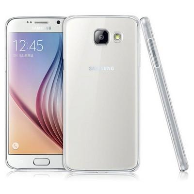 Microsonic Samsung Galaxy A9 2016 Kılıf Kristal Şeffaf Cep Telefonu Kılıfı