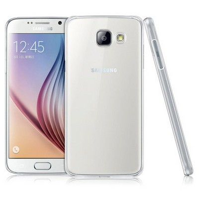 Microsonic Samsung Galaxy A7 2016 Kılıf Kristal Şeffaf Cep Telefonu Kılıfı