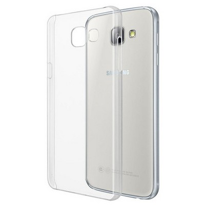 Microsonic Samsung Galaxy A5 2016 Kılıf Kristal Şeffaf Cep Telefonu Kılıfı