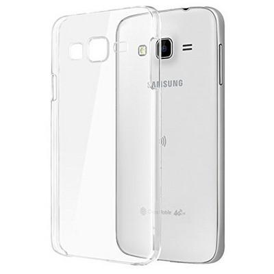 Microsonic Samsung Galaxy J7 Kılıf Kristal Şeffaf Cep Telefonu Kılıfı