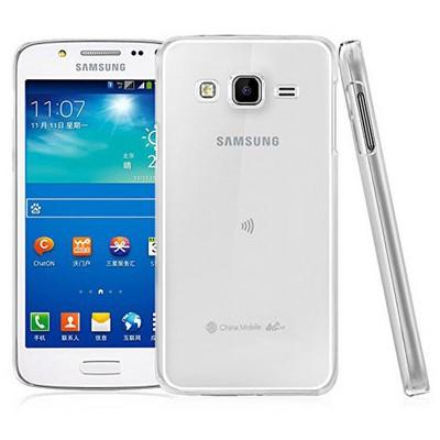 Microsonic Samsung Galaxy J5 Kılıf Kristal Şeffaf Cep Telefonu Kılıfı