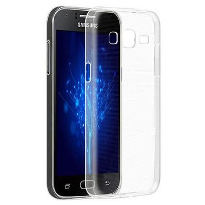 Microsonic Samsung Galaxy J2 Kılıf Kristal Şeffaf Cep Telefonu Kılıfı
