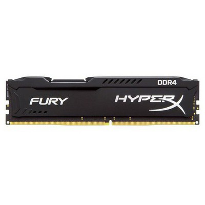 Kingston HyperX Fury Black 8GB CL15 DDR4 Bellek (HX424C15FB2-8)