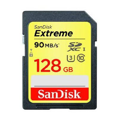 Sandisk 128gb Sd 90mb/s Sdsdxnf-128g-gncın 128 Gb Extreme SDHC
