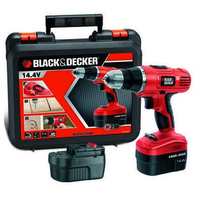 Black & Decker EPC146BK Şarjlı matkap, 14.4V/1.0Ah, - Outlet