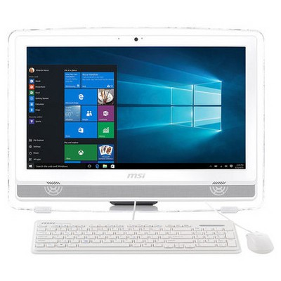 MSI AIO PRO 20ET 6NC-007TR 19.5 HD+ MULTI-TOUCH I5-6400 4G 1TB  2GB W10 Beyaz All in One PC