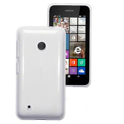 Microsonic Clear Soft Şeffaf Nokia Lumia 530 Kılıf Cep Telefonu Kılıfı