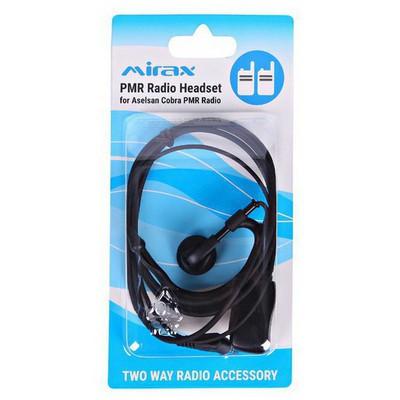 Mirax PMR Telsiz Kulaklığı, mikrofonlu, 2,5mm fiş