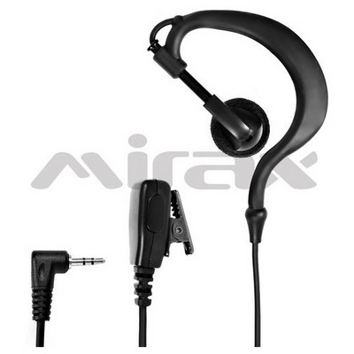 Mirax PMR  Kulaklığı, mikrofonlu, 2,5mm fiş Telsiz