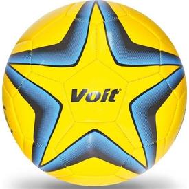 InterSpor Voit Streetball N5 Futbol Topu Sarı-mavi Bahçe Oyuncakları