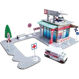 Maisto Fresh Metal Hastane Binası Oyun Seti Erkek Çocuk Oyuncakları