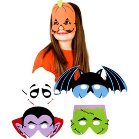 Parti Paketi Balkabağı Maske, Köpük Parti Maskesi