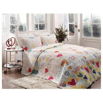 Taç Tekstil Taç Lovely Yatak Örtüsü Çift Kişilik Yatak Örtüleri