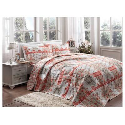 Taç Spring Yatak Örtüsü Çift Kişilik Ev Tekstili