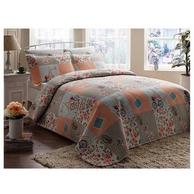 Taç Tekstil Taç Wheal Yatak Örtüsü Çift Kişilik Yatak Örtüleri