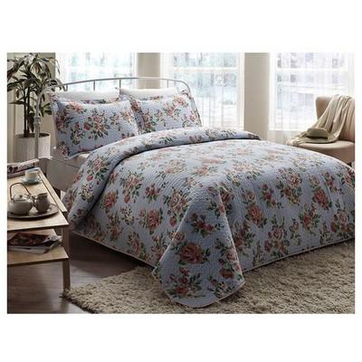 Taç Blossom Yatak Örtüsü Tek Kişilik Ev Tekstili