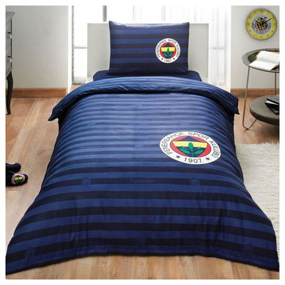 Taç Fenerbahçe Elegant Nevresim Takımı Tek Kişilik Fenerbahçe Ürünleri