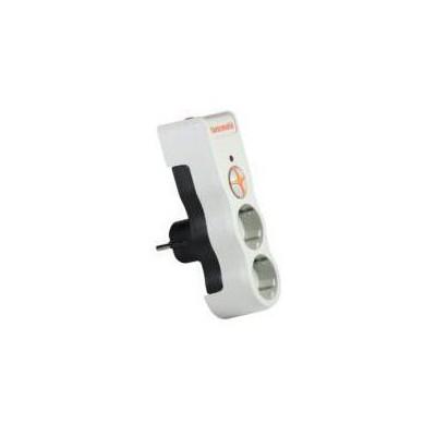 Tuncmatik Tsk5080 Powersurge 2'lı Kablosuz 525 Joule Beyaz Renkli Akım Korumalı Priz