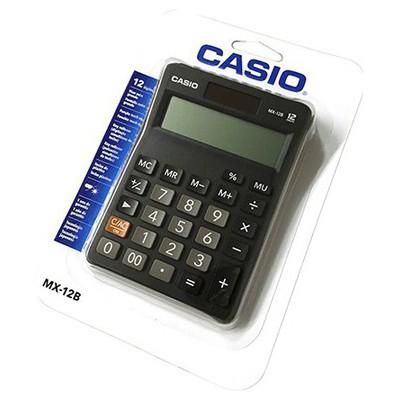 Casio MZ-12S 12 HANE MASAÜSTÜ HESAP MAKİNESİ Hesap Makinesi