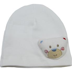 Bibaby 57175 Figürlü Bebek Şapka Krem Şapka, Bere, Kulaklık
