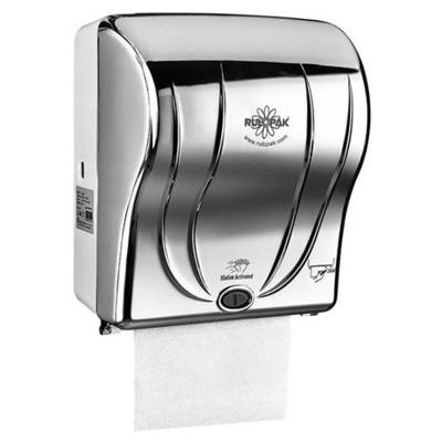 Rulopak Sensörlü Kağıt Havlu Makinesi Krom 21 Cm Model R-1301 Kağıt Havlu Dispenseri