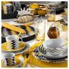 Kütahya Porselen 9134 Desen Kahve Fincanı Ve Tabağı Çay Seti