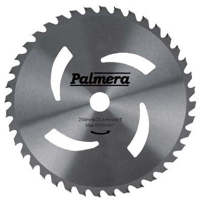 Palmera Tırpan Bıçağı 40D 255X25.4X2Mm Elmas Uç Bahçe Makina Aksesuar