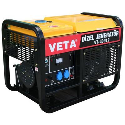 Veta VT-LDG12 Dizel Marşlı 11 kVA Jeneratör