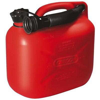 Oregon Benzin Bidonu 5Lt Kırmızı Bahçe Makina Aksesuar