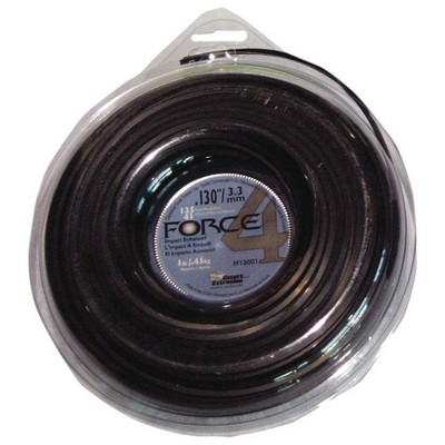 Force4 Misina 3.3Mm 41M Siyah 4 Köşe Bahçe Makina Aksesuar