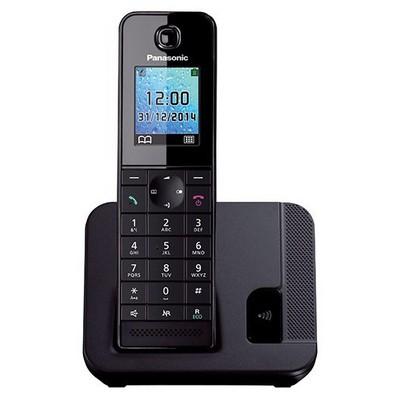 Panasonic KX-TGH210-SIYAH DECT 200 REHBER CALLER ID ALARM Siyah Telsiz Telefon