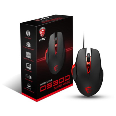 MSI Interceptor DS300 Kablolu Gaming Mouse