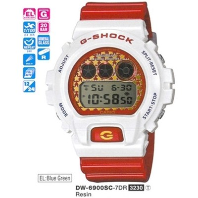 Casio Dw-6900sc-7dr G-shock Erkek Kol Saati