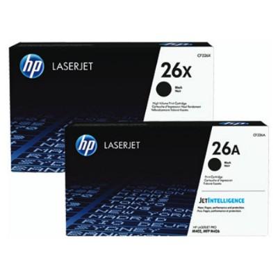 HP Cf226xc (26x) Sıyah Taahhutlu Yuksek Kapasıtelı  9.000 Sayfa Toner