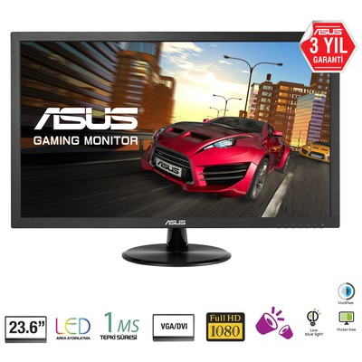 "Asus VP247T 23.6"" 1ms Full HD Gaming Monitör"