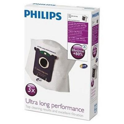 Philips ULP s-bag FC8027/01 3 Adet Toz Torbası Süpürge Aksesuarları