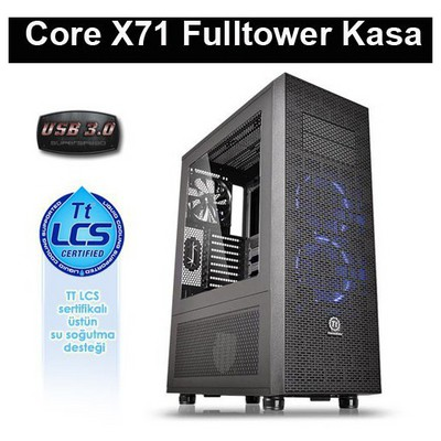 Thermaltake Core X71 Riing Full Tower Kasa (CA-1F8-00M1WN-00)