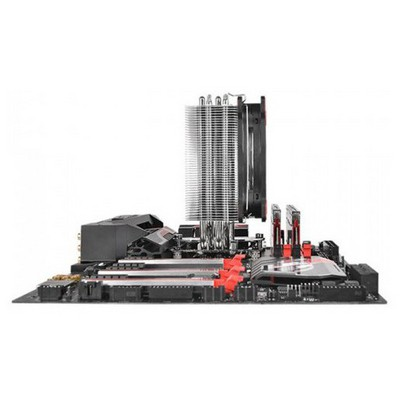 Thermaltake Cl-p022-al12re-a Riing Silent 12cm Kırmızı Led lı Cpu Soğutucu Intel Lga2011/1366/115x/775/amd Fm2/am2 Fan