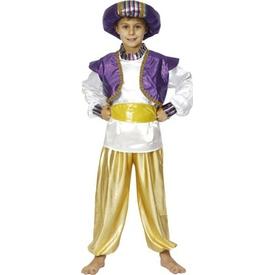 Parti Paketi Alaaddin Kostümü, Süperlüks 7-9 Erkek Çocuk Kostümleri