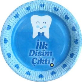Parti Paketi Diş Buğdayı Partisi, Mavi,tabak 8'li Parti Tabağı