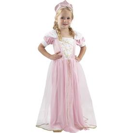 Parti Paketi Sevimli Prenses Kostüm/taç, Lüks 3-4yaş Kız Çocuk Kostümleri
