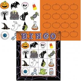 Parti Paketi Halloween Bingo, Parti Oyunu Parti Oyunları