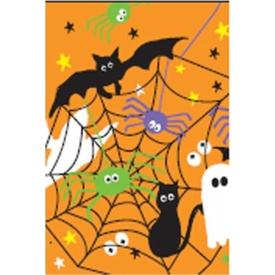 Parti Paketi Halloween Yaratıkları Kağıt Kare Masa Örtüsü Parti Masa Örtüsü