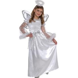 Parti Paketi Melek Kostümü, 4-6 Yaş Kız Çocuk Kostümleri
