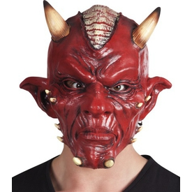 Parti Paketi Şeytan Maskesi, Latex Deluxe Parti Maskesi
