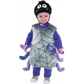 Parti Paketi Sevimli Örümcek Kostümü, 1-2 Yaş Bebek Kostümleri