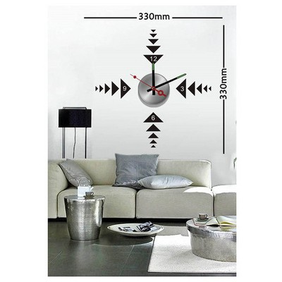 ihouse-10-a-024-stickerli-duvar-saati-siyah-33cmx33cm
