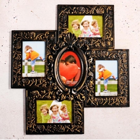 İhouse 11505 Dekoratif Çoklu Çerçeve Gold Çerçeve / Albüm