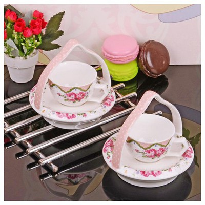 İhouse 11805 Porselen Kahve Ikram Seti Beyaz Çay Seti